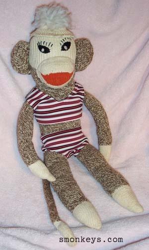 monkeys - Sock Monkey Headquarters