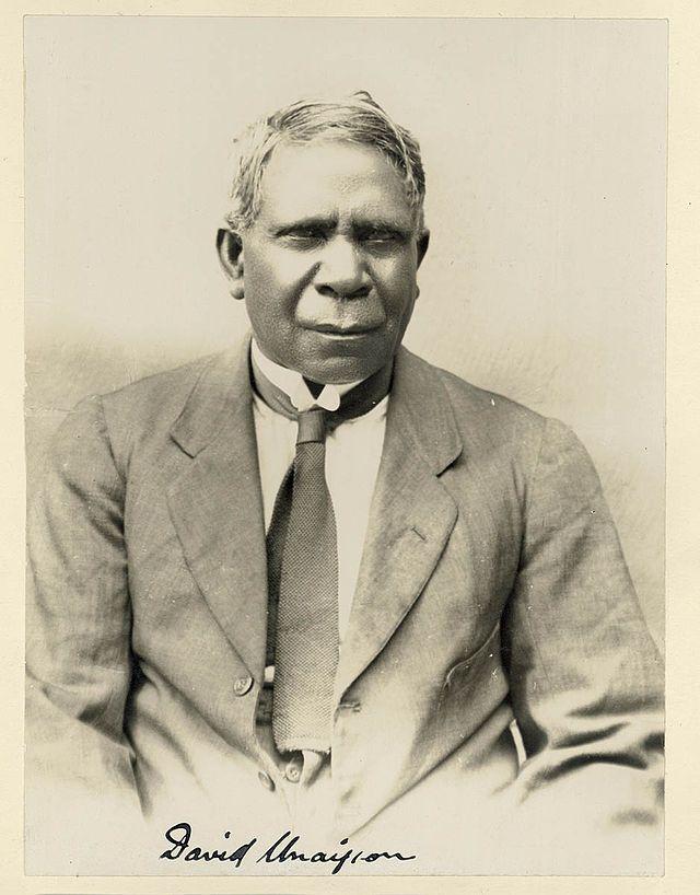 David Unaipon (born David Ngunaitponi) (28 September 1872 – 7 February 1967) was a well-known Indigenous Australian of the Ngarrindjeri people, a preacher, inventor and writer.