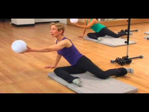 "The Bar Method ""Super Sculpting Workout I"" packages together the Bar Methods most fast-acting body-reshaping moves into one super-targeted 59-minute workout. The exercises include four sets of thigh-work and the Bar Methods famous pretzel with the ball. You'll also use the ball to zero in on problem areas in your inner thighs and seat.  More at: http://shop.barmethod.com/collections/dvd/products/super-sculpting-workout-dvd"