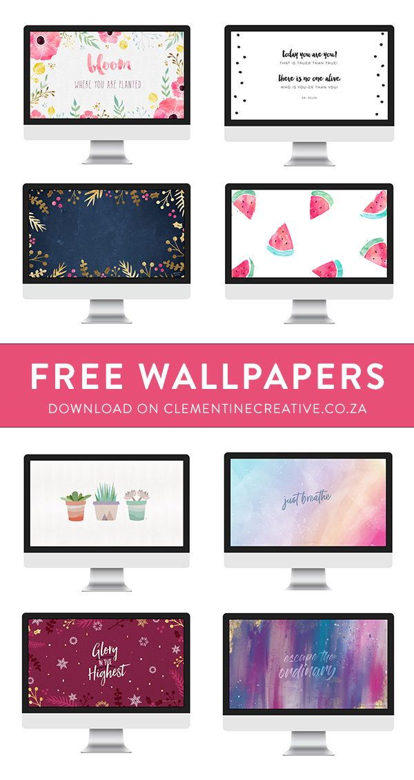 Decorate Your Computer Screen With Colourful Backgrounds Download These Computer Screen Wallpaper Desktop Wallpapers Backgrounds Watercolor Desktop Wallpaper