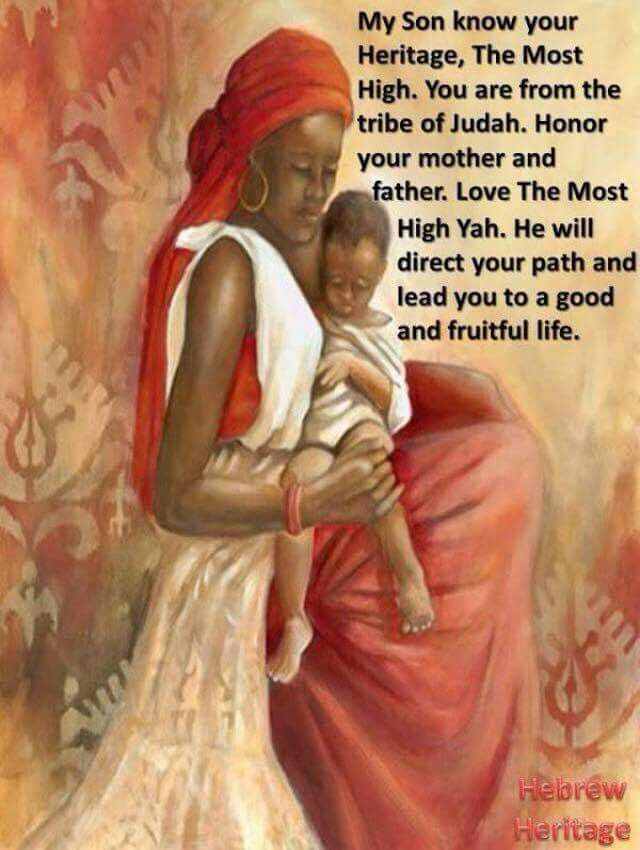 My son know your heritage. Judah.