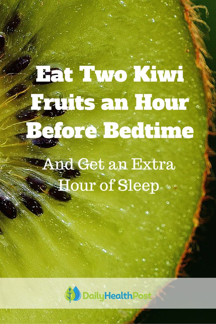 Studies have shown that one in three adults suffers from insomnia or symptoms of insomnia, meaning that one in three adults struggles to get enough sleep. But the key to a night of longer, better quality sleep may be as simple as eating two kiwi fruits an hour before bed. #stress #relief #tips