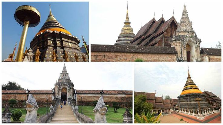 Around Thailand Wat Phra That Lampang Luang (Thai: วัดพระธาตุลำปางหลวง) is a Lanna-style Buddhist temple in Lampang in Lampang Province, Thailand. The first element, phra that, means Buddha relic (from phra which is an honorific and that which means relic). The word Luang comes from ในหลวง (Nai Luang), one way of referring to the Thai King, and indicates that the monument was sponsored by His Majesty, usually for reconstruction or refurbishment.