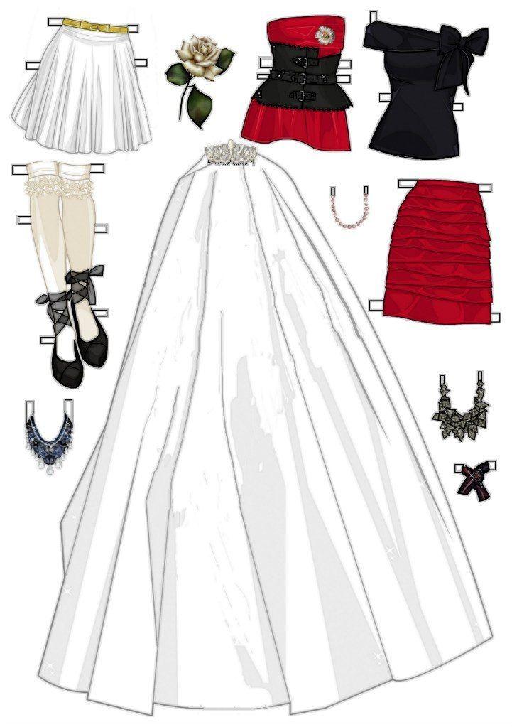 Miss Missy Paper Dolls: Valentine's Sewing Pattern Paper Doll  |Everyday Paper Dolls Pattern