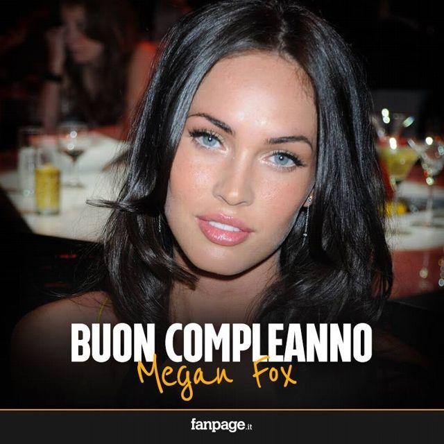 Megan #Fox 16mag1986 29 anni