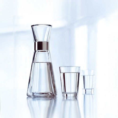 Grand Cru Tumblers make setting the table complete. The elegant glass design features Grand Cru's characteristic grooves and complements the collection's carafes. http://www.yliving.com/rosendahl-grand-cru-tumbler.html