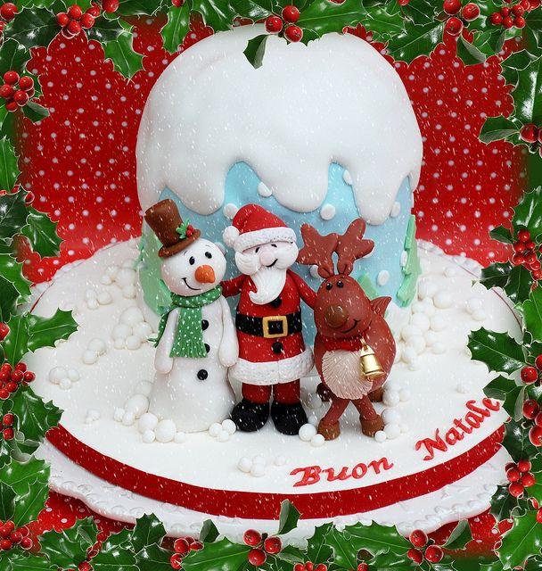 Merry Christmas by Alessandra Cake Designer, via Flickr