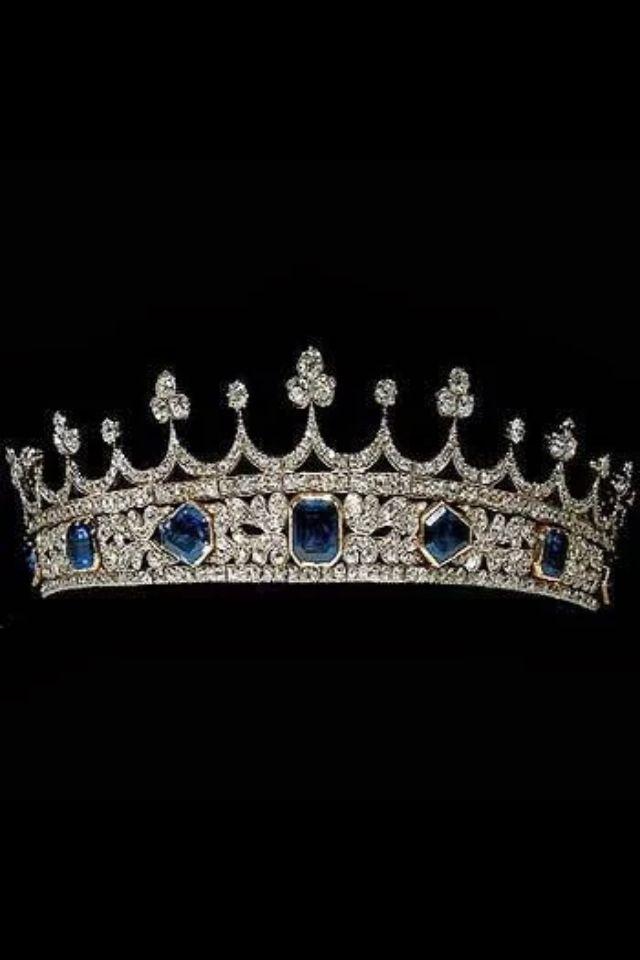 Queen Victoria's tiara designed by Prince Albert.