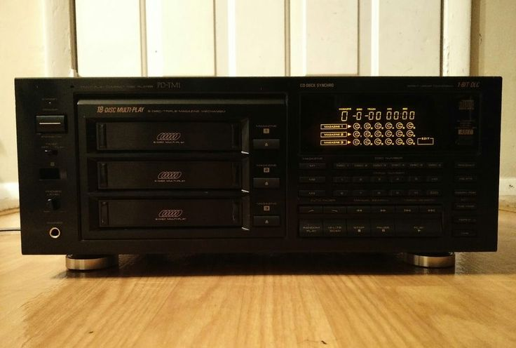 Pioneer CD Changer Model PD-TM1 Works But Is Missing Magazines  #Pioneer