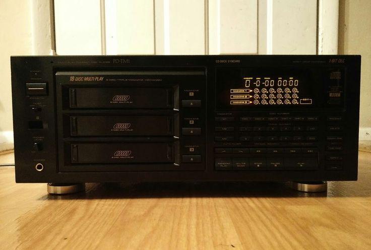 Pioneer CD Changer Model PD-TM1 Works But Is Missing Magazines  #Pioneer