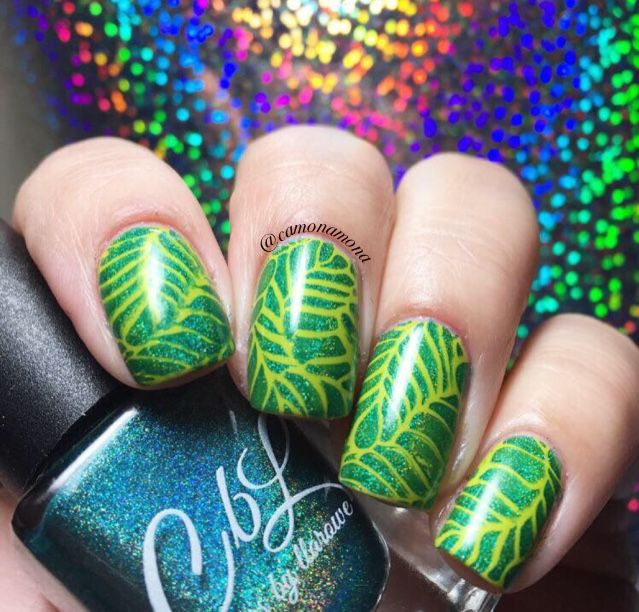Mejores 343 imágenes de Colors by llarowe Stamping Polish Nail Art ...