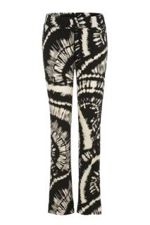 Black and white knit pant #pants #printedpants #prints #style #summer #fashion #tribalsportswear #summerstyle #trends