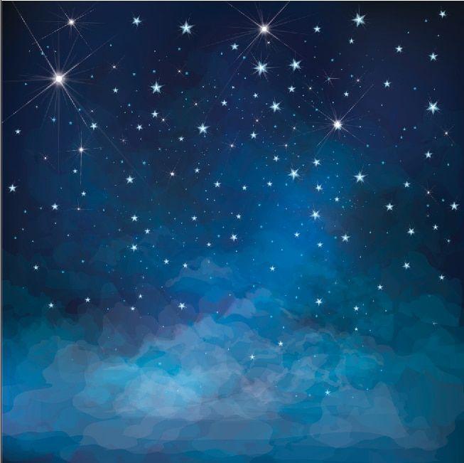 رخيصة 10x10ft كحلي البريق النجوم النجوم السماء الغيوم مخصصة خلفية استوديو الصور خلفية الفينيل 300 سنتيمتر X 300 س Starry Sky Studio Background Studio Backdrops