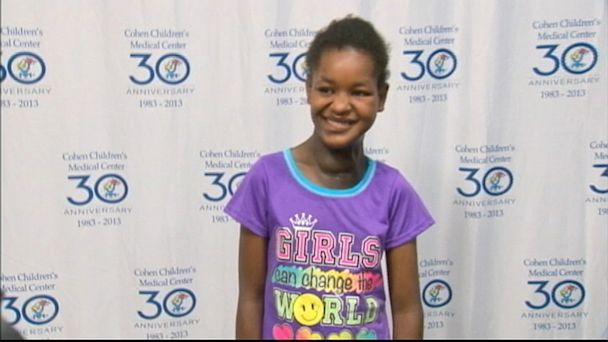 A 13-year-old girl is recovering in New York after doctors removed a six-pound tumor from her neck. Aster Degano flew from Ethiopia to New York for treatment after the U.S.-based nonprofit Little Baby Face Foundation helped to facilitate the surgery.