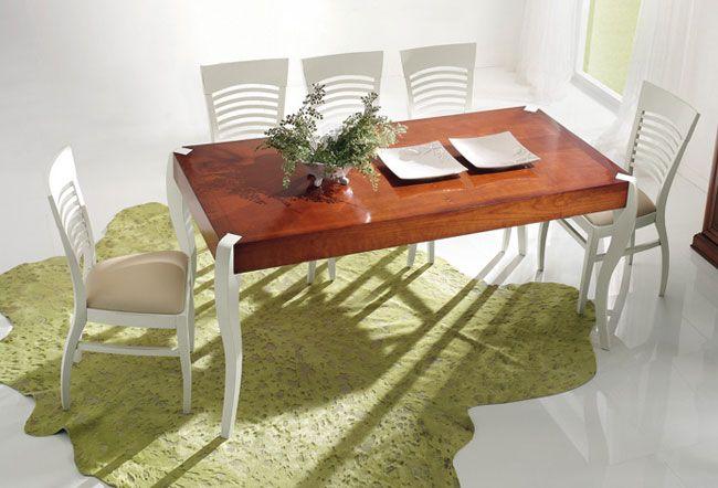 Ùjklasszikus asztal - www.montegrappamoblili.hu