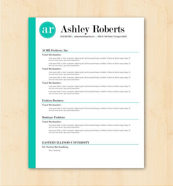 Cv examples, Resume and Resume format on Pinterest