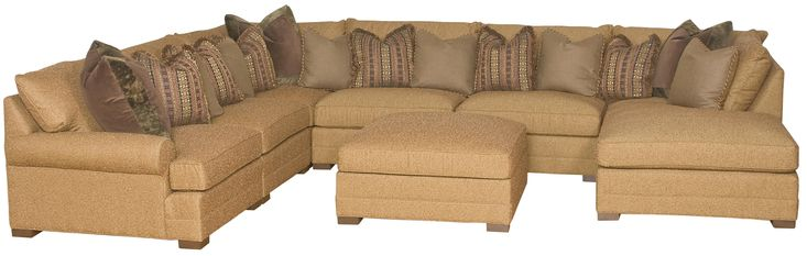 Casbah Sectional Sofa by King Hickory