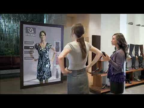 This would be so amazing. Could you imagine online shopping with this gadget - you could buy jeans online without worrying about how they would make your butt look!