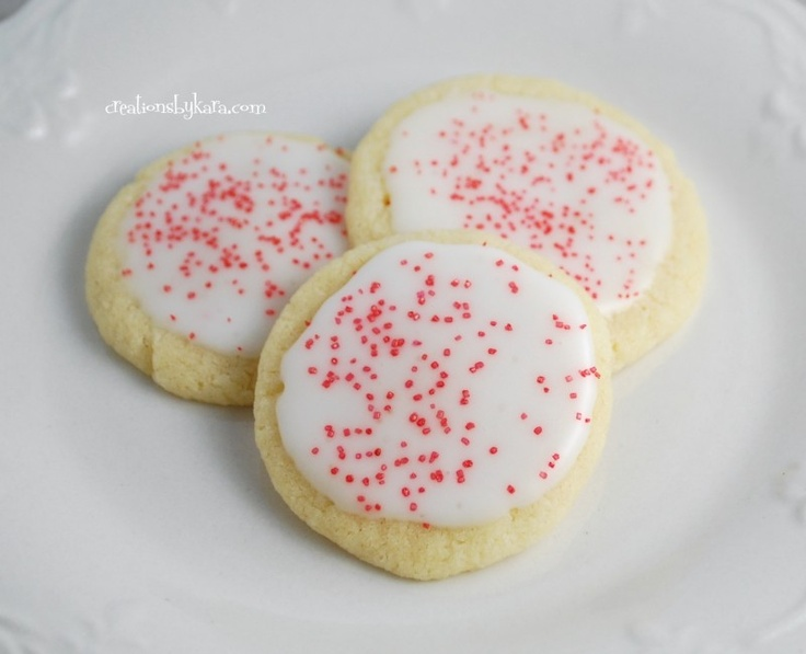 Easysugar cookies. Can't wait to try because I fail EVERYTIME I try and make homemade surgar cookies.