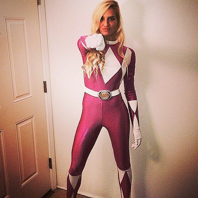 Pink Power Ranger: The Costume