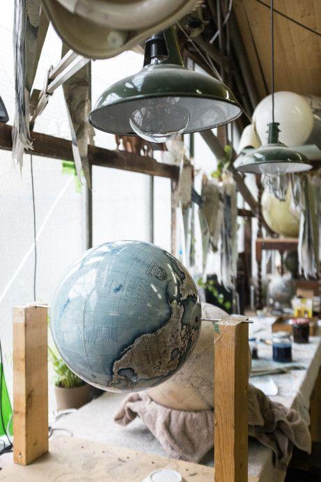 Как создаются глобусы ручной работы в лондонской мастерской • Trip Secrets