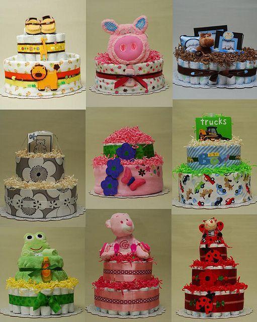 Diape free   Diaper cake ideas