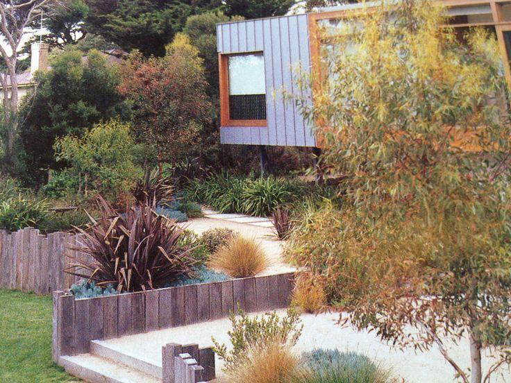 Native Garden - Mornington Peninsula. Fiona Brockhoff design
