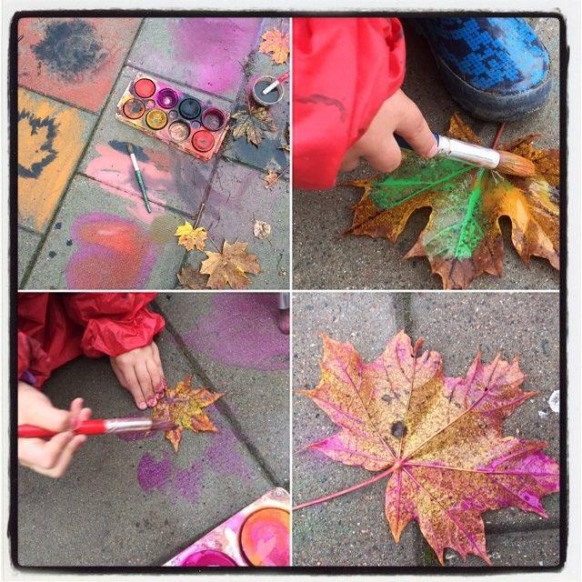 Uppdrag 7: NATURSPANARNA Måla med pensel på lövets baksida (nerverna framträder bättre där) och pressa sedan bladet mot papperet. Här får du svaren och hittar fakta: http://naturspanarna.se/bladeniskogenhosten-2/