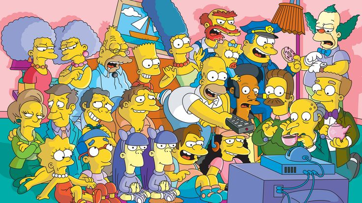 The Simpsons… What could I possibly say that you wouldn't already know about this great show? This dysfunctional family has been on our screens