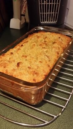 Mmm-mmm, good! Whenever I make cornbread, I always double the recipe and voila! 2nd times the charm with this delectable cornbread pudding. I use the leftover cornbread the second day so the bread sops up all the delicious pudding!