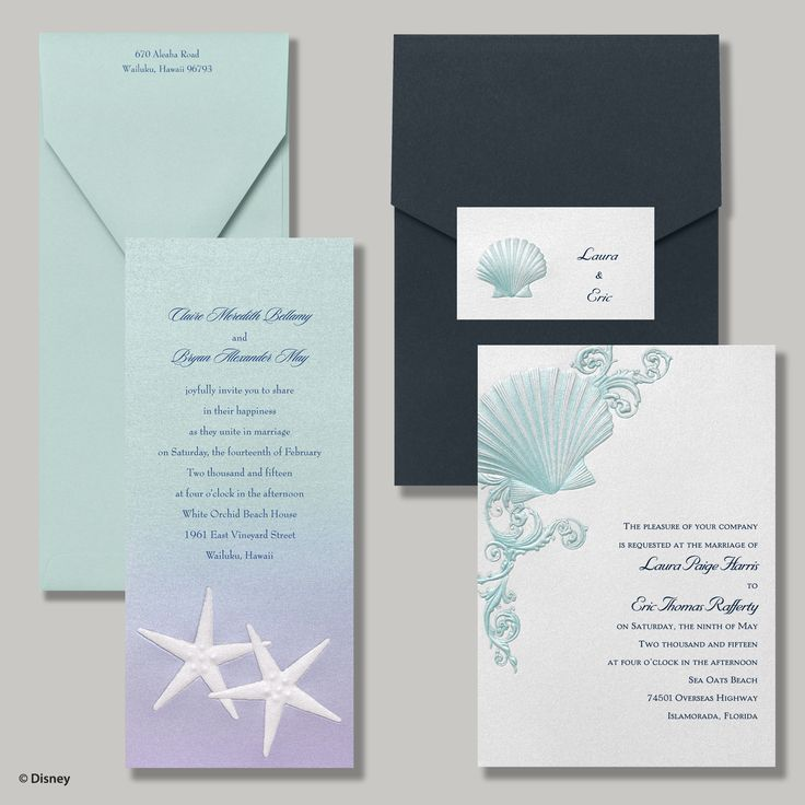 fairytale bridal shower invitation wording%0A under the sea   ocean  beach  destination wedding invitation   Disney fairy  tale weddings