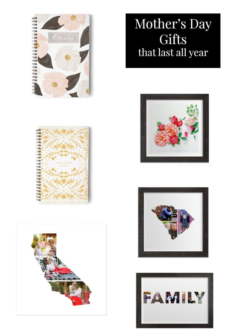 Looking for Mother's Day Gift Ideas? These great options from Minted will last ALL YEAR!