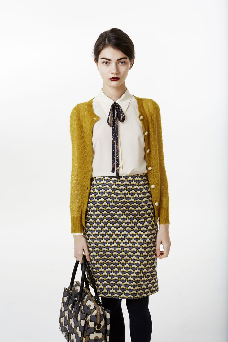 New Pre-Fall 2013 collection by London trend designer Orla Kiely now available at FashionVestis.com.