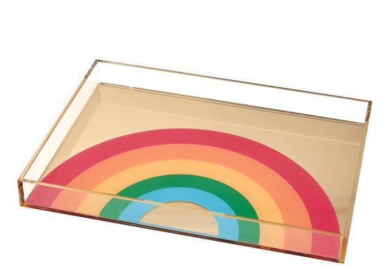 Rainbow tray | Tara Wilson Designs