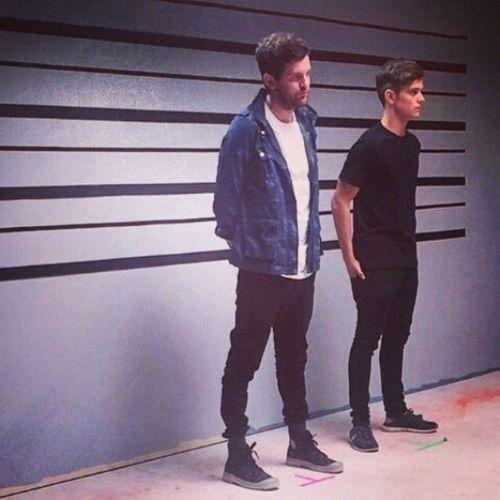 Dillon Francis & Martin Garrix at the Set Me Free videoshoot ☺. ✿