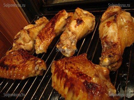 Крылья индейки в духовке