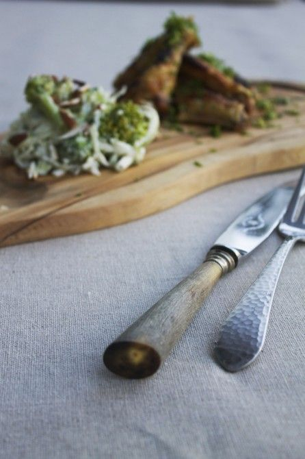 Chickenwings witg gremulata // kyllingevinger med gremulata