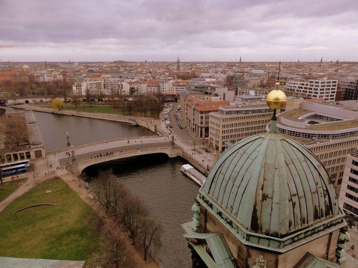 View of Berlin from the roof of the Berlin Cathedral