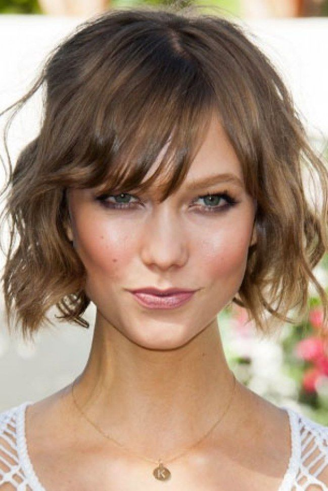 Short Wavy Hairstyles For Women A Line Bob Hairstyle With