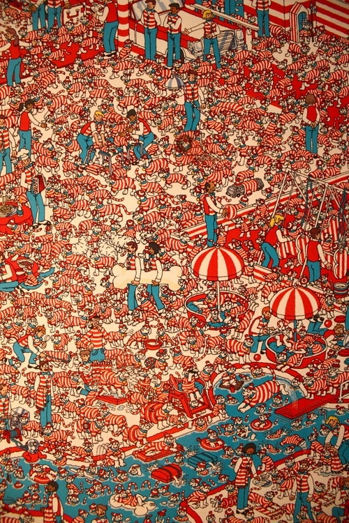 Where's Wally.... No really, where is he???