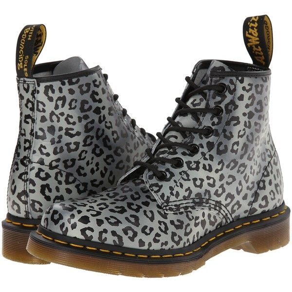 Dr. Martens 101 6-Eye Boot Women's Lace-up Boots, Black (