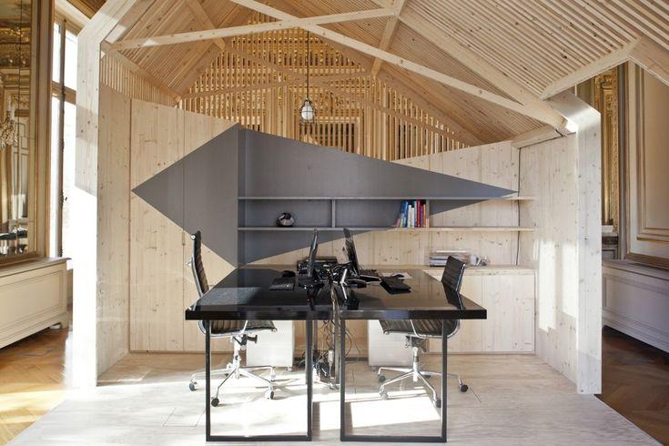 Amenagement Des Bureaux Ekimetrics / Estelle Vincent Architecture