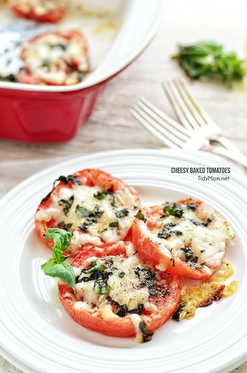 Ingredients: Yield: 3 servings Serving Size: 2 slices Prep Time: 5 minutes Cook Time: 10 minutes Total Time: 15 minutes 2 tomatoes 1/4 cup fresh grated parmesan c
