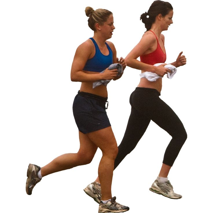 Women Jogging   Immediate Entourage