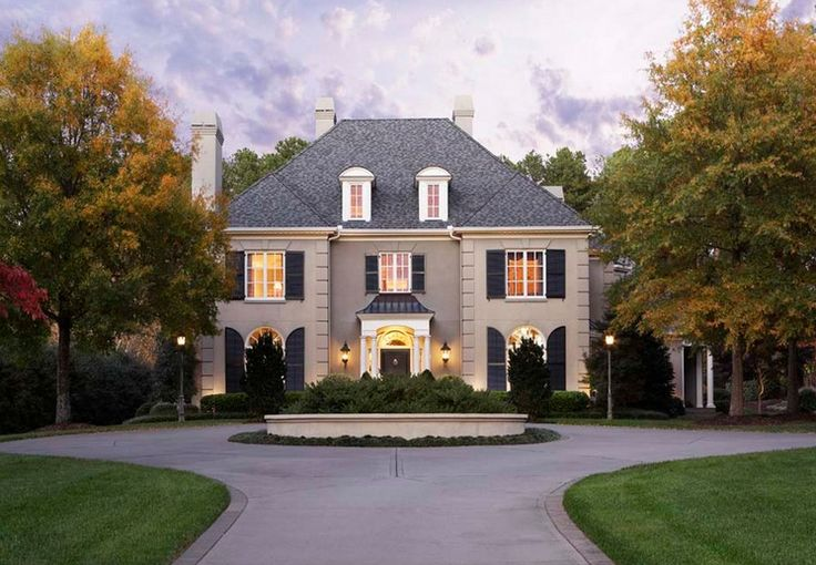 French house styles design exteriors pinterest for Different exterior house styles