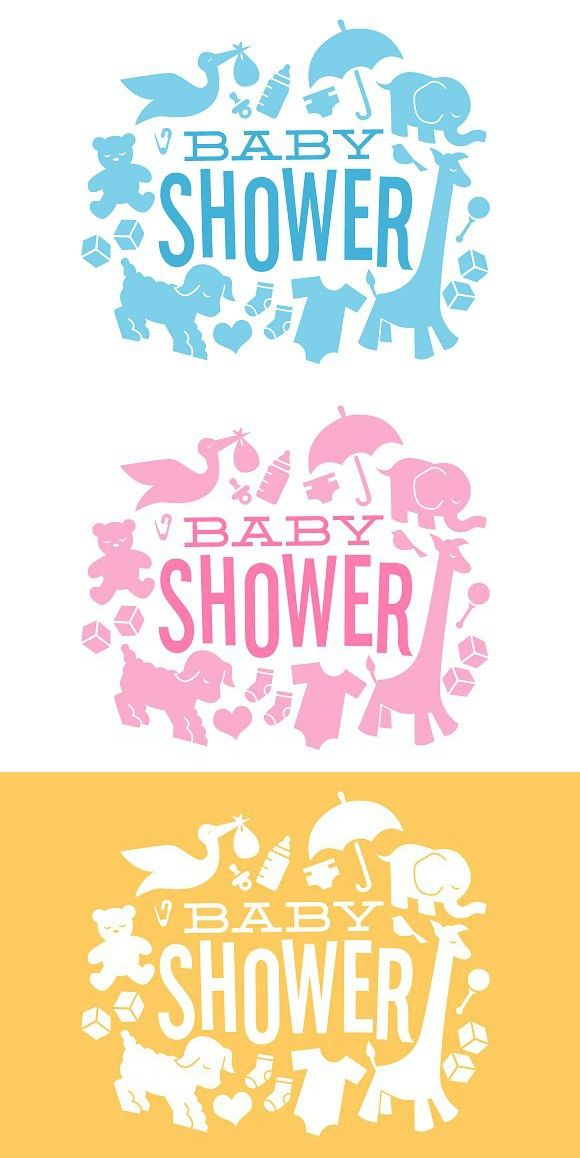 Baby Shower Icons Baby Shower Baby Icon Baby Design