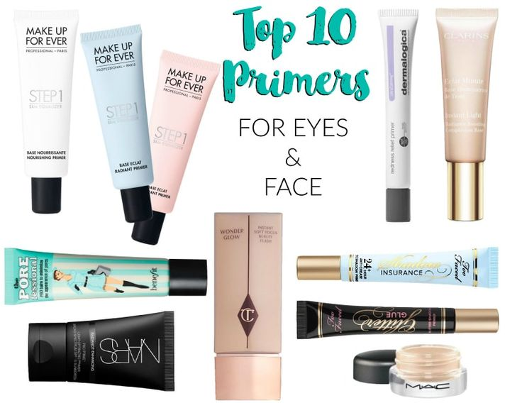 Top 10 Primers for Face and Eyes