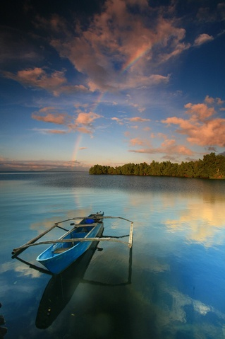 Jailolo Bay, West Halmahera, Indonesia