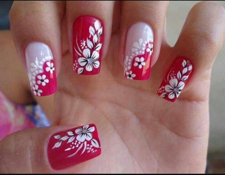 Flor en rojo