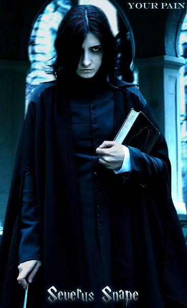 Severus Snape (Harry Potter) by ~Eternal-Jesus #Cosplay